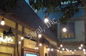 heavy duty outdoor string lights commercial grade heavy duty outdoor string lights 330 ft 165