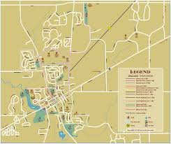 Road Map Of Michigan City Of Saline Michigan