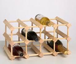 solid pine 12 bottle wine rack kit amazon co uk kitchen u0026 home