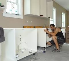Installing Kitchen Wall Cabinets Mounting Kitchen Cabinets Bar Cabinet