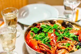 cuisine portugal seafood rice recipe