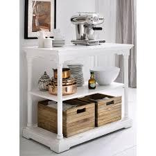 desserte table cuisine table desserte cuisine blanche bois massif