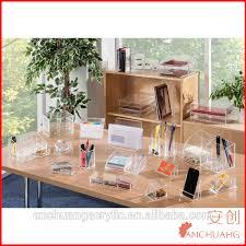 professional acrylic office accessories school desk organizer sets