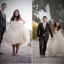 high low wedding dress with cowboy boots wedding dresses beautiful wedding dresses that go with cowboy
