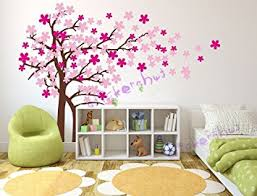 Cherry Blossom Tree Wall Decal For Nursery Awesome Cherry Blossom Wall Decor Plus Wonderful Home