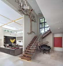 Foyer Stairs Design The Miwa House An Award Winning Custom Home By Phil Kean Designs