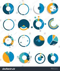 big set round circle chart graph stock vector 389979064 shutterstock big set of round circle chart graph simply color editable infographics elements