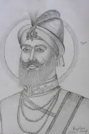 sant sipahi sketch of tenth guru shri guru gobind singh u2026 flickr