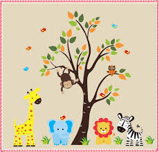 safari animal wall decals animal wall decals ideas home safari animal wall decals