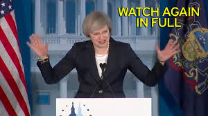 welcome speech for thanksgiving party watch theresa may u0027s us speech in full as tory leader evokes spirit