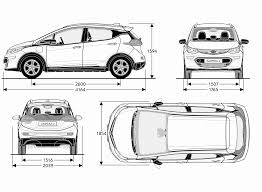 opel ampera opel ampera e 2017 blueprint download free blueprint for 3d modeling