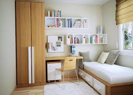 small bedroom storage ideas diy stained high gloss finish mahagony