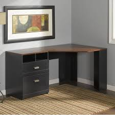 black modern desk amazon com wheaton collection reversible corner desk kitchen