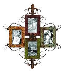 deco plaque metal fleur de lis deco 79 metal photo frame wall plaque u2013 decor le fleur