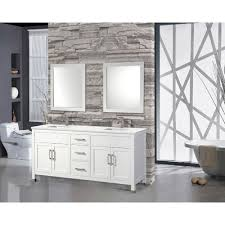 bathroom the most 84 inch white finish sink vanity cabinet