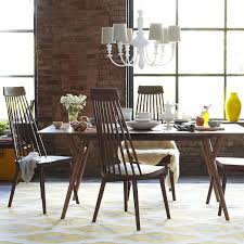 MidCentury Expandable Dining Table West Elm - West elm dining room chairs