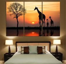 Giraffe Home Decor by Online Get Cheap Paintings Giraffes Aliexpress Com Alibaba Group