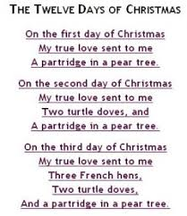 lyrics to twelve days of lizardmedia co