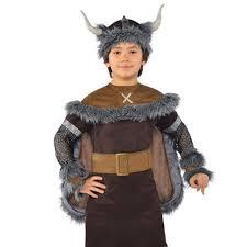 child saxon wild viking boy costume warrior fancy dress book day