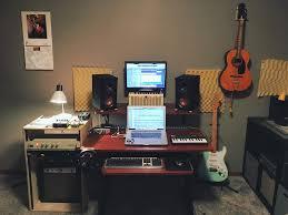 Audio Studio Desk by My Home Audio Recording Mixing Desk Setup Battletops