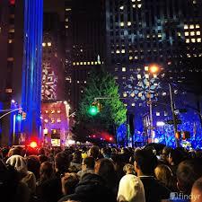 rockefeller center christmas tree lighting findyr reporter