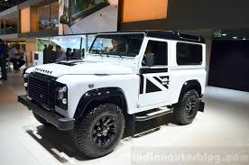french land rover land rover defender black pack paris 2014 live