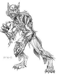 wolfman coloring pages eume werewolf coloring pages 06 free