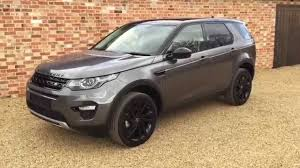 discovery land rover 2017 black discovery sport hse lux youtube