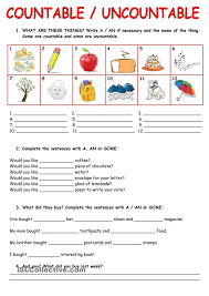 Countable And Uncountable Nouns Explanation Pdf Best 25 Nouns Exercises Ideas On 11 February