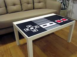 amazon com nes nintendo controller coffee table kitchen