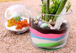 home decor craft ideas diy sand terrariums kit kraft