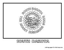 south dakota state flag homeschool m u0026m co op midwest state