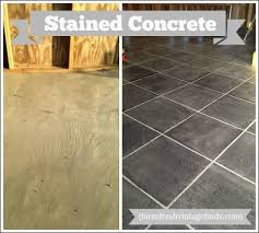 How To Stain Concrete Patio Yourself Concrete Patio Pavers Concrete Stain Ideas For An Update