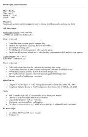 Audit Manager Resume Night Auditor Resume Best Template Collection