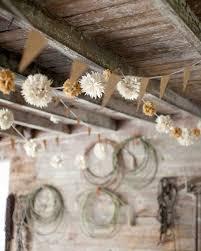 Rustic Wedding Chandelier 47 Hanging Wedding Décor Ideas Martha Stewart Weddings