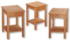 maple end tables foter