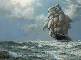 pirate sail wallpapers famous sailing ship paintings paintings ocean ships artwork sail