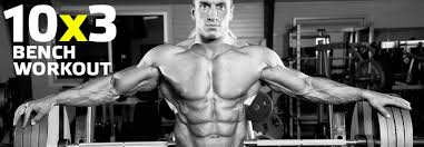 Raw Bench Press Program Beef Up Your Bench Press 10x3 Workout Program Bring Up Your Bench