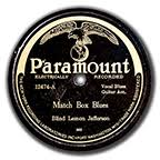 Blind Lemon Jefferson Matchbox Blues John Tefteller U0027s Museum Quality 78 U0027s By Label