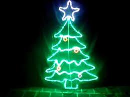 led tree rope light motif by alight