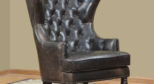 Black Wingback Chair Design Ideas Chair Black Leather Wingback Chair With Cram Wall And Rug For