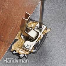 Repair Cabinet Door Hinge How To Fix A Broken Door Hinge Family Handyman