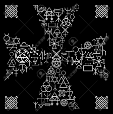esoteric cross religion and magic abstract mystery occult