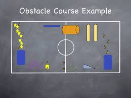online pe class high school physical education obstacle courses