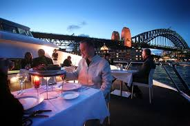 corporate christmas party lunch cruise on sydney harbour