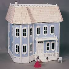 Free Doll House Design Plans by Woodworking Project Paper Plan To Build Victorian Doll House Plan
