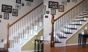 Staircase Renovation Ideas Stair Remodeling Before After Gallery Stairstrinity Stairs
