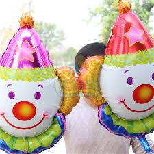 clown balloon online shop 50pcs lovely clown balloon patati patata aluminum foil