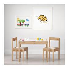 tavolo sedia bimbi l繖tt tavolo per bambini con 2 sedie ikea
