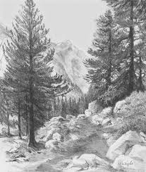 gallery draw nature landscapes drawing art gallery